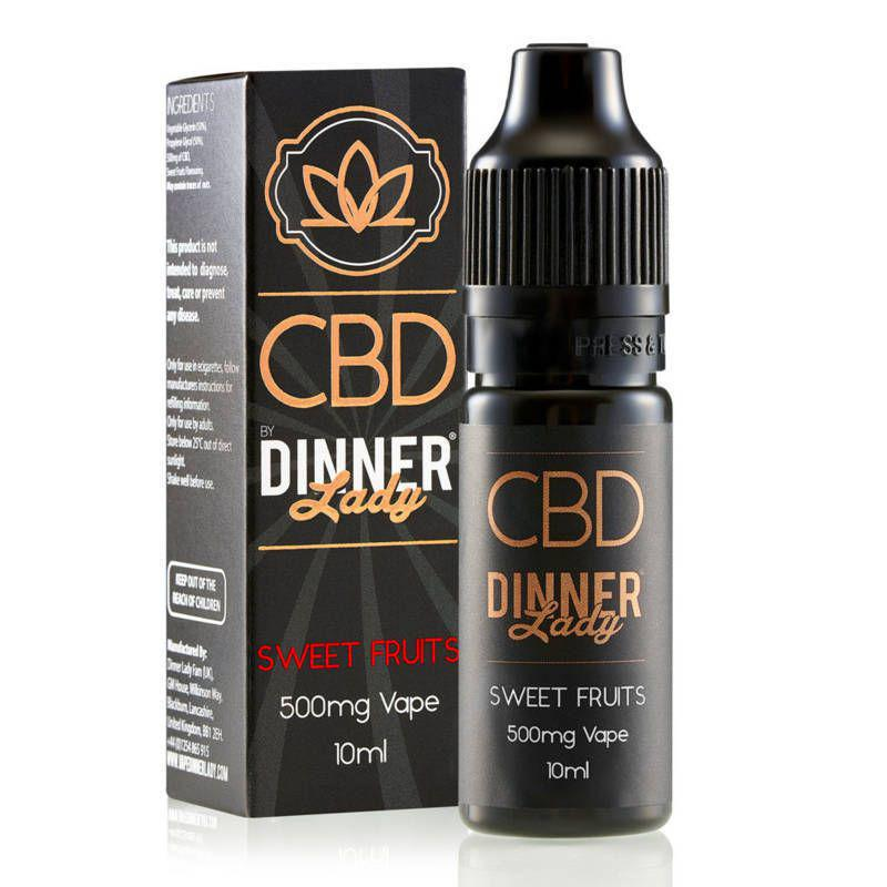 Sweet Fruits CBD E-Liquid by Dinner Lady 10ml 500mg