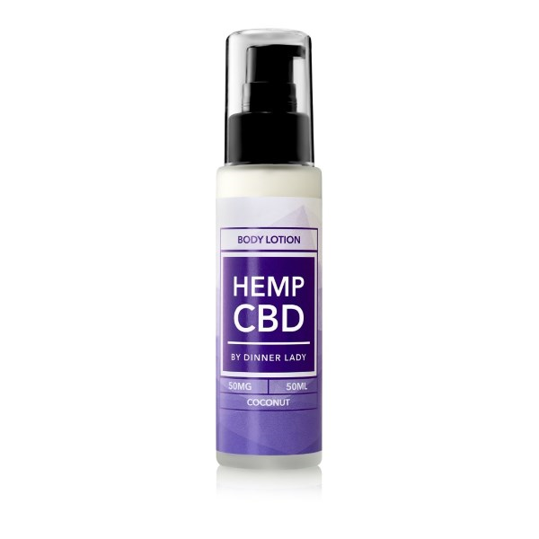 Dinner Lady CBD Coconut Body Lotion