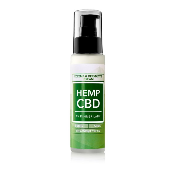 Dinner Lady CBD Eczema & Dermatitis Treatment Cream