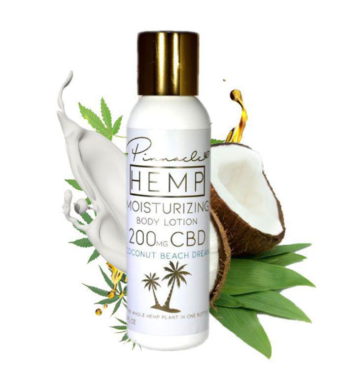 Coconut Beach Dream CBD Body Lotion 200MG By Pinnacle