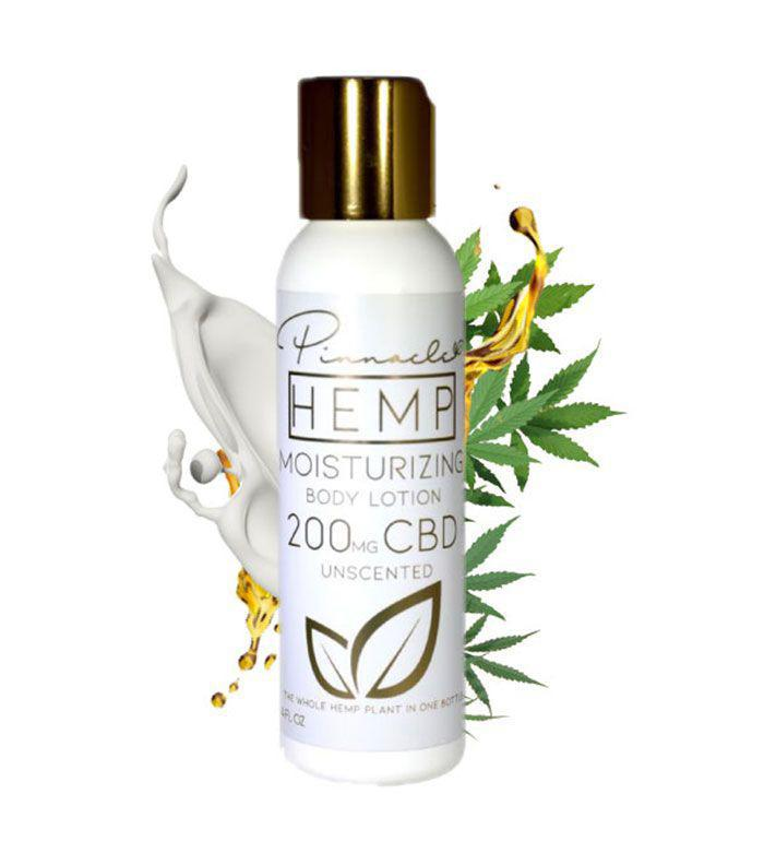 Unscented CBD Body Lotion 200MG By Pinnacle