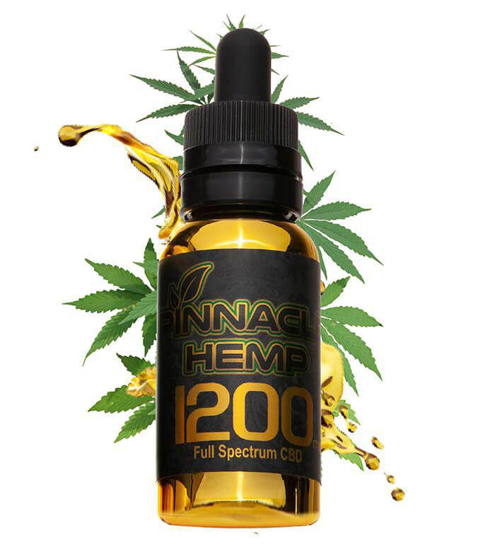CBD Oil 1200MG By Pinnacle