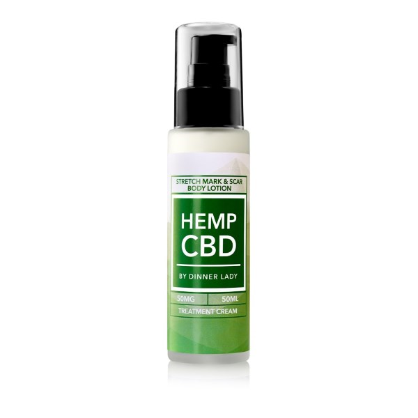 Dinner Lady CBD Stretch Mark & Scar Body Lotion